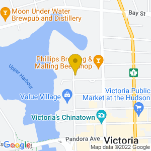 Map to The Duke Saloon provided by Google