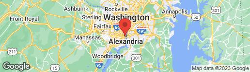 Map of 502 FAYETTE STREET S ALEXANDRIA, VA 22314
