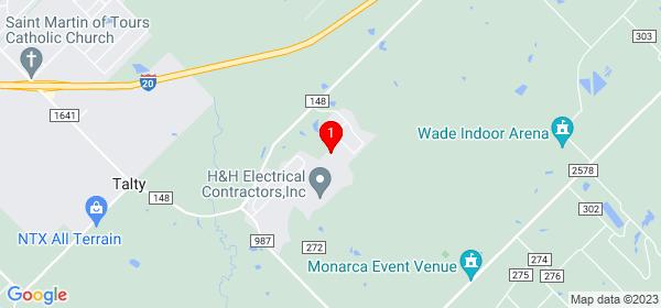 Google Map of 5021 Dee Drive Terrell, Texas 75160
