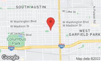Map of 5023 West Adams Street CHICAGO, IL 60644