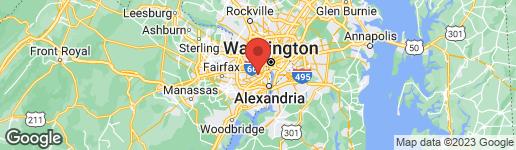 Map of 5025 12TH STREET S ARLINGTON, VA 22204