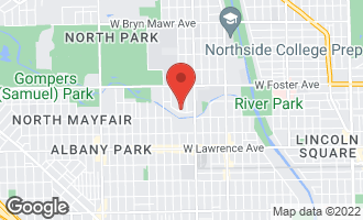 Map of 5029 North St Louis Avenue CHICAGO, IL 60625