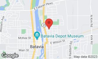 Map of 503 North Van Buren Street BATAVIA, IL 60510