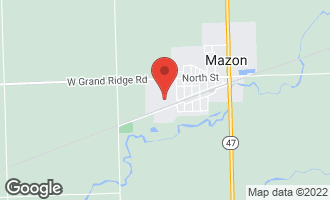 Map of 503/507 Grundy Street MAZON, IL 60444