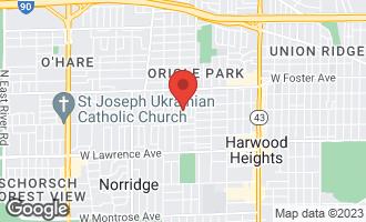Map of 5030 North Ottawa Avenue CHICAGO, IL 60656