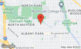 Map of 5036 North Ridgeway Avenue CHICAGO, IL 60625