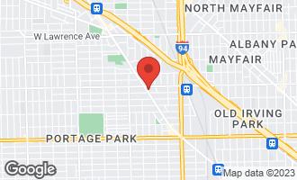Map of 5036 West Pensacola Avenue #207 CHICAGO, IL 60641