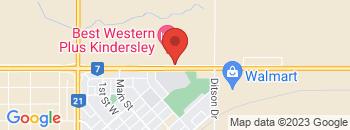 Google Map of 504+-+12th+Avenue+East%2CKindersley%2CSaskatchewan+S0L+1S0
