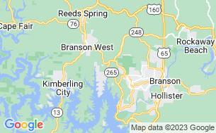 Map of Compton Ridge Campground