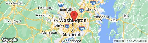 Map of 5040 1ST STREET NW #101 WASHINGTON, DC 20011