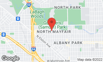 Map of 5040 North Lowell Avenue CHICAGO, IL 60630