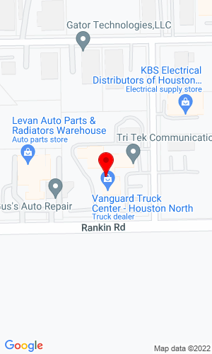 Google Map of Prime Equip Solutions 505 Rankin Road, Houston, TX, 77073