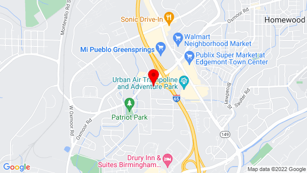 Google Map of 505 Cobb Street, Birmingham, AL 35209