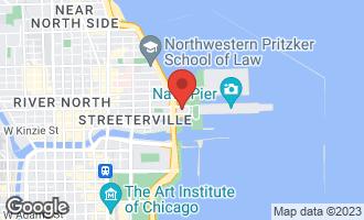 Map of 505 North Lake Shore Drive #2802 CHICAGO, IL 60611