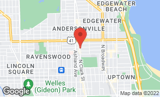 Map of 5051 North Clark Street 1S CHICAGO, IL 60640