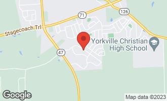 Map of 506 Windett Ridge Road YORKVILLE, IL 60560