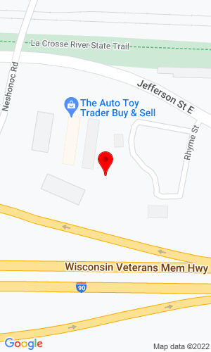 Google Map of Auto and Toy Trader 507 Jefferson Street E, West Salem, WI, 54669