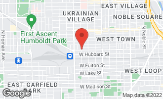 Map of 507 North Oakley Boulevard CHICAGO, IL 60612