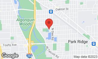 Map of 507 Park Plaine Avenue PARK RIDGE, IL 60068