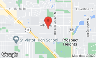 Map of 507 West Marion Street PROSPECT HEIGHTS, IL 60070