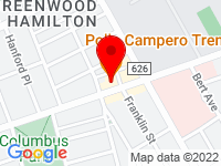 Google Map of 508 Hamilton Avenue