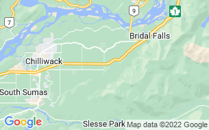 Map of Chilliwack Campsite & RV Park