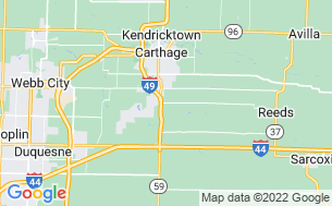 Map of Big Red Barn RV Park