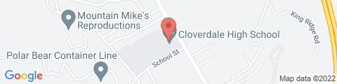 Google Map of 509 N Cloverdale Blvd, Cloverdale, CA 95425