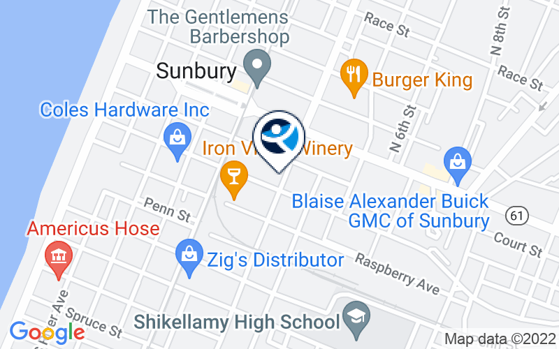 Gaudenzia - Sunbury Outpatient Location and Directions