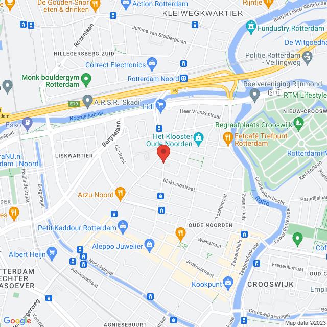 Benthuizerstraat 12b / hoek Zoomstraat 105
