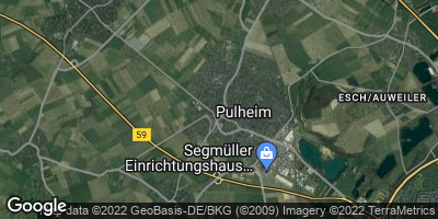 Google Map of Pulheim