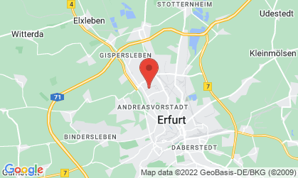 Arbeitsort: Erfurt