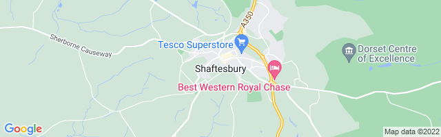 Map Of Shaftesbury