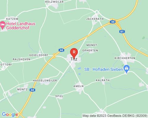 Google Karte von Rohrreinigung Titz