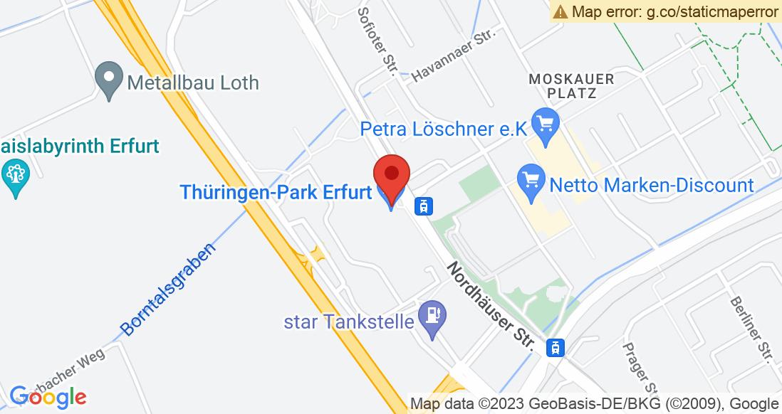Google Map DLX - Thüringenpark