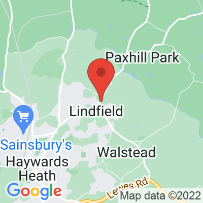 Map showing Lindfield Coffee Works