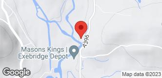 Masons Kings (Exebridge) location