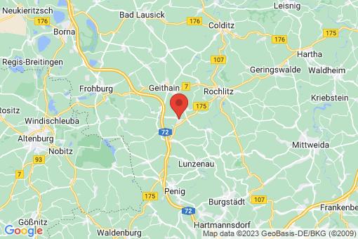 Karte Narsdorf