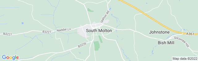 Map Of South Molton