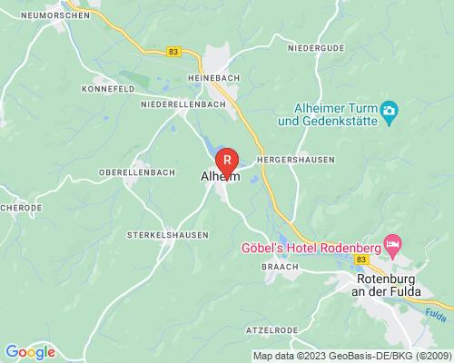 Google Karte von Rohrreinigung Alheim