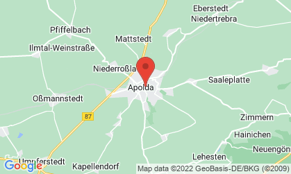 Arbeitsort: Apolda, Jena