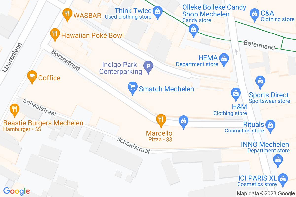 situatie op Smatch Mechelen