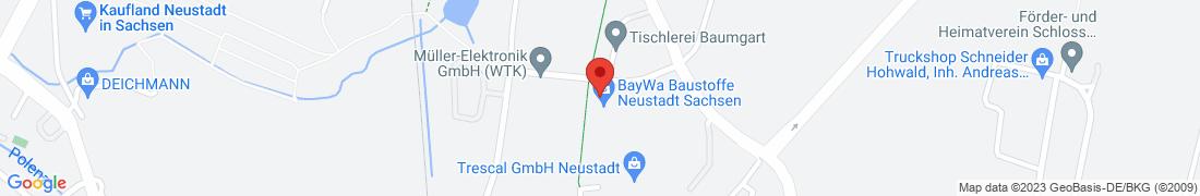 BayWa Baustoffe Langburkersdorf Anfahrt