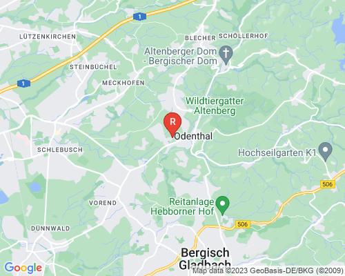 Google Karte von Rohrreinigung Odenthal