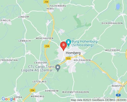 Google Karte von Rohrreinigung Homberg Efze