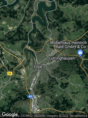 Google Map of Olpe