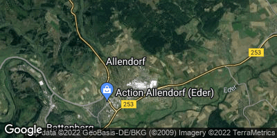 Google Map of Allendorf