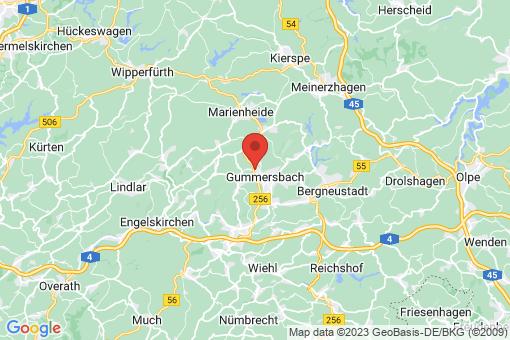 Karte Gummersbach