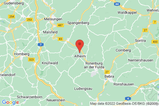 Karte Alheim
