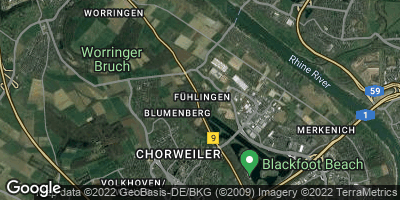 Google Map of Fühlingen
